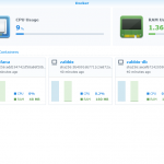 Synology Docker interface